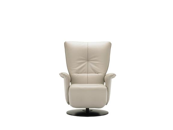 Large Manual Gas Sprung Back Chair