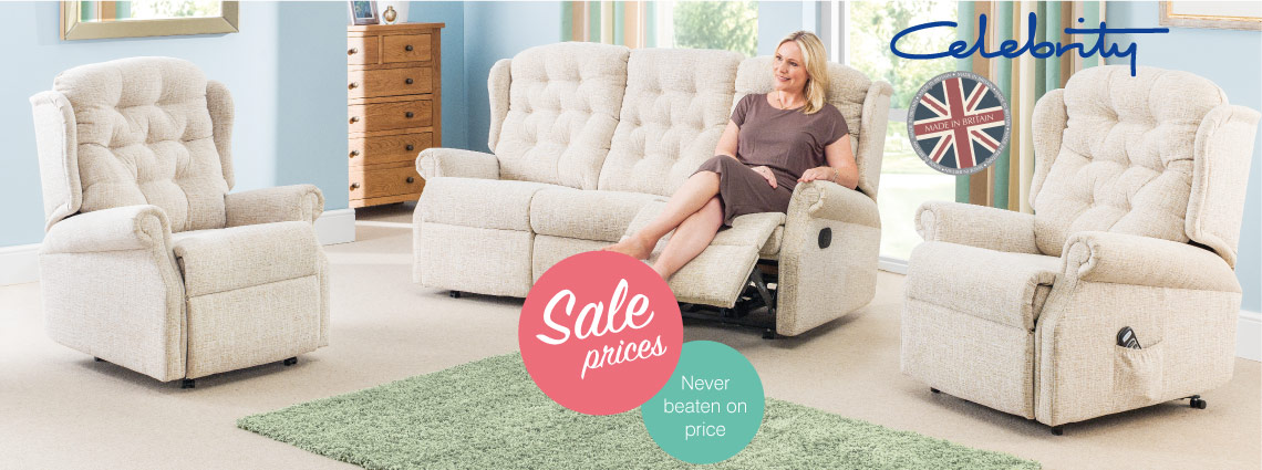 Celebrity Recliner Sofas And Chairs Buy At Fredmans