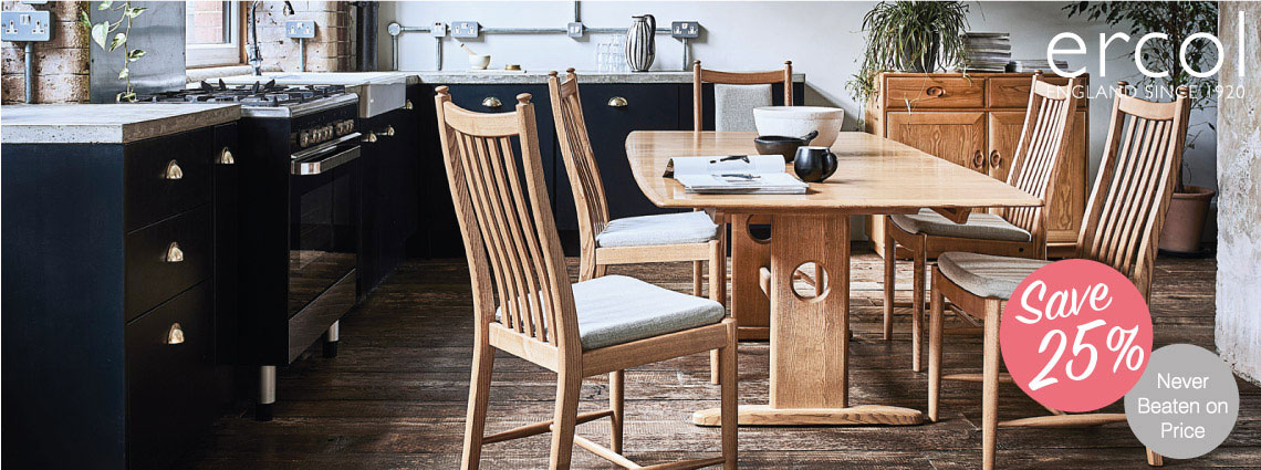 25% Off Ercol Dining