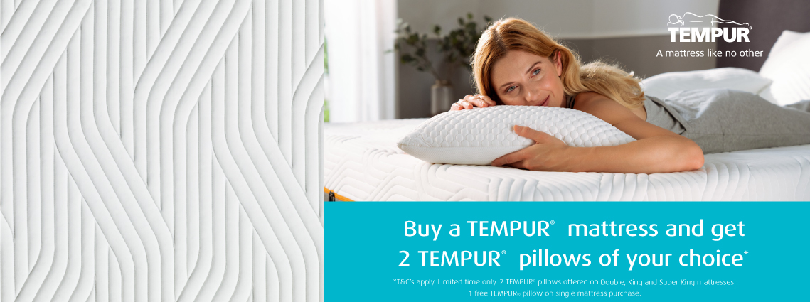 2 Free Tempur Pillows Offer